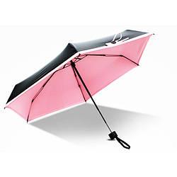 Мини зонт женский розовый