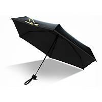 Мини зонт черный