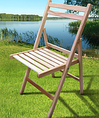 Стул раскладной Пикник Микс-мебель 430х400х830 мм деревянный