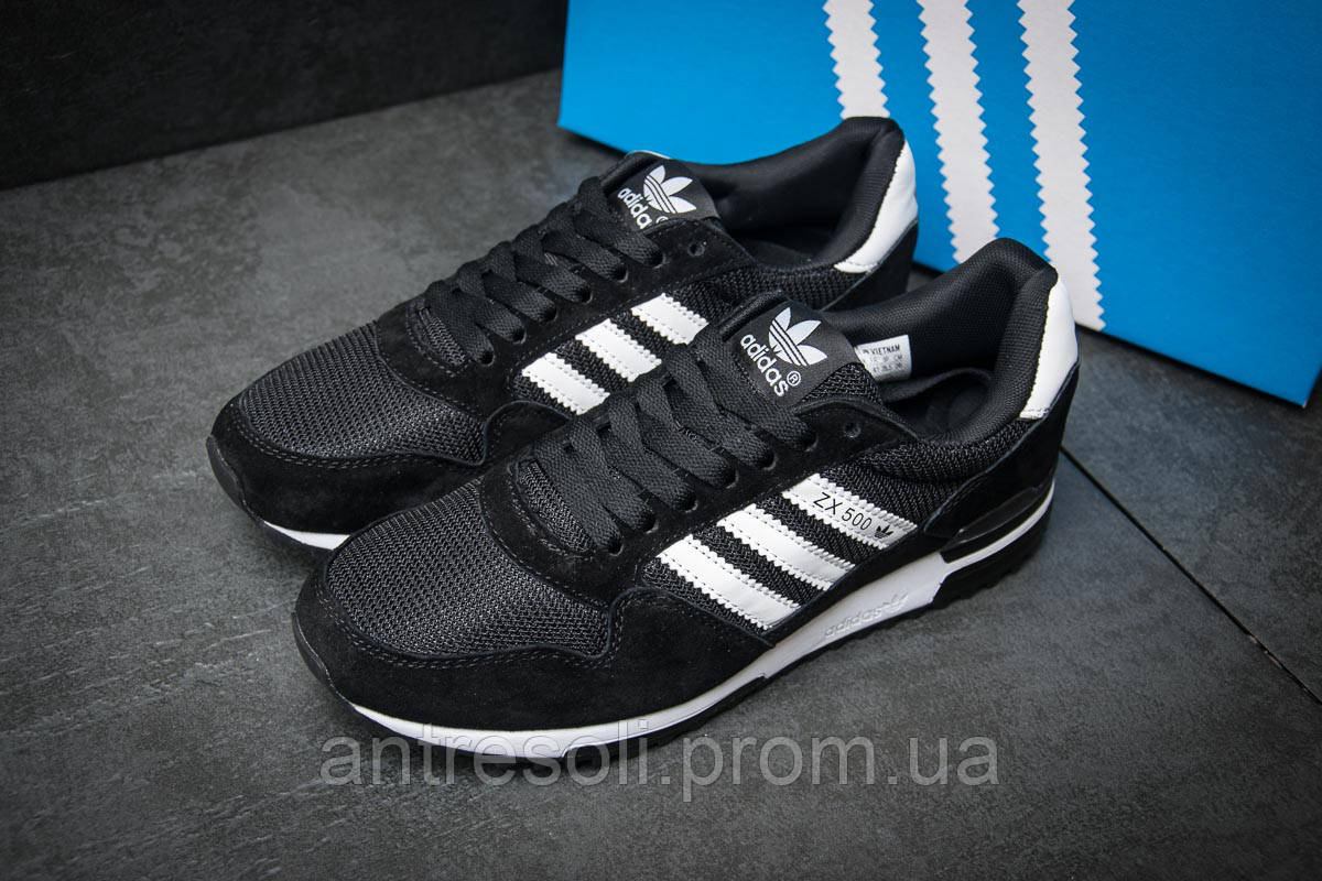 Кроссовки мужские Adidas ZX500, черные (11534), р. 41-46  890 грн ... c9be7b0e3b1
