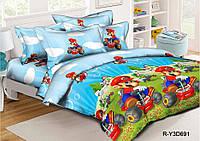 Комплект постельного белья (ренфорс) Марио и Луиджи