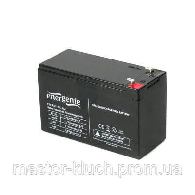 Аккумулятор Gembird EnerGenie BAT-12V7.2AH  12В 7,2Ач