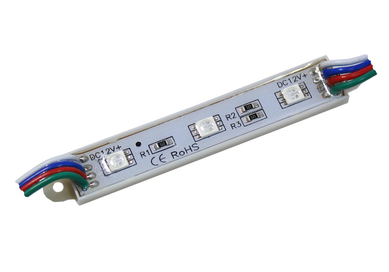 Светодиодный модуль SMD5050 RGB IP67