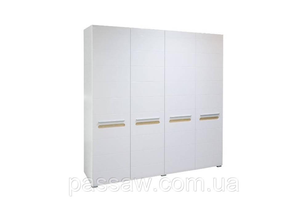 Шкаф 4Д Бьянко