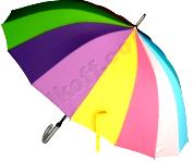 Женский зонт трость (радуга)