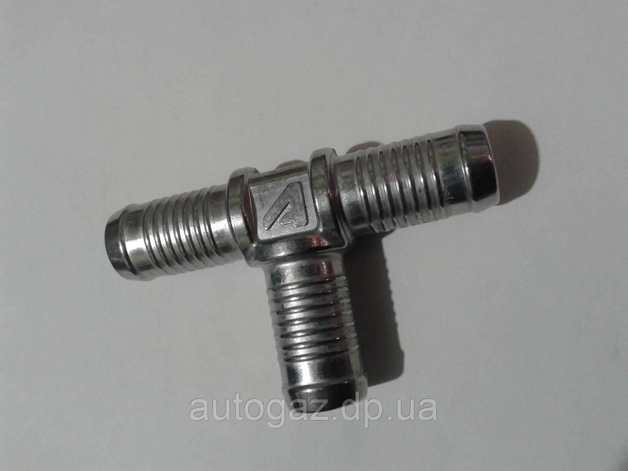 Трійник Т-образний тосольний 16х16х16 алюмінієвий (шт)