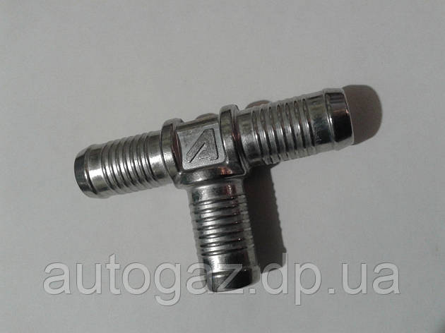 Трійник Т-образний тосольний 16х16х16 алюмінієвий (шт), фото 2