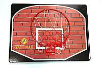 Кольцо баскетбольное с щитом детское Basket WALL