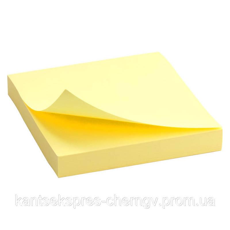 Блок бумаги с липким слоем Delta D3314 75x75 мм, 100 листов,
