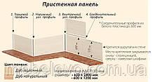 Комфорт Хай-Тек кухня КХ-199 дуб серебристый 3.2 м , фото 2
