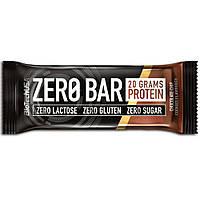 Батончик BioTech - Zero Bar (50 г) печенье с шоколадной крошкой
