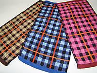Полотенце кухонное махровое «Клетка» (25х50 см) код 0124