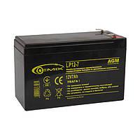 Аккумулятор GEMIX LP12-7 12В 7Ач AGM