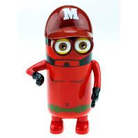 Термос-игрушка Миньон Супергерой с подвижными ручками, 200 мл подарок ребенку на день рождения