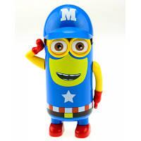 Термос-игрушка Миньон Капитан Америка, 200 мл подарок ребенку на 5 6 7 лет