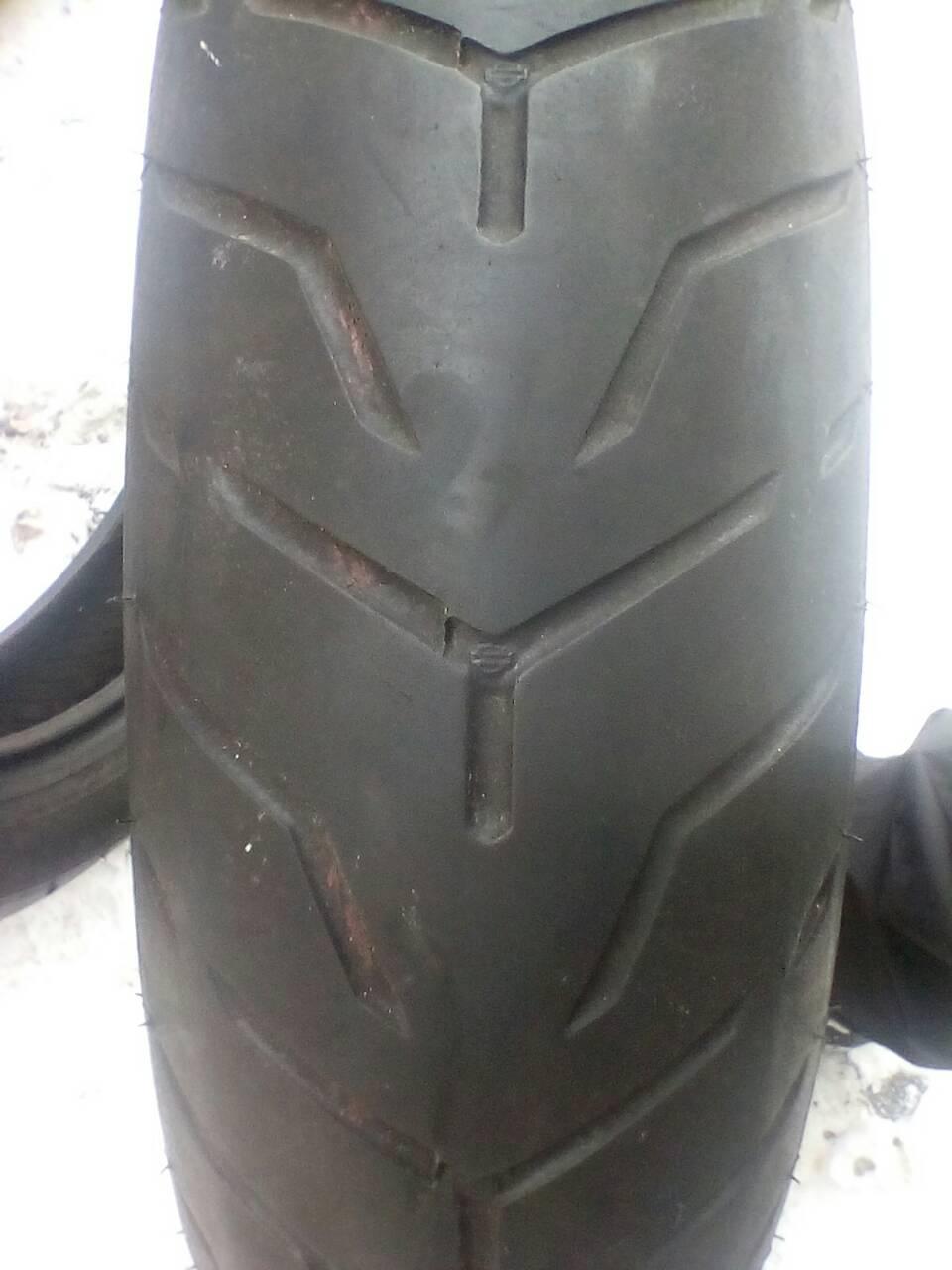Мото-шины: 140/75R17 Dunlop H.D D408f