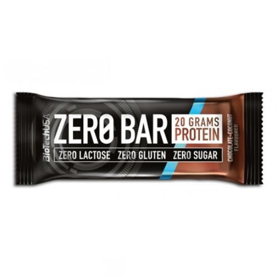 Батончик BioTech - Zero Bar (50 грамм) шоколад-кокос