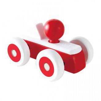 Машинка, красная