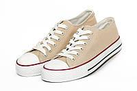 Женская обувь.Кеды розпродажа (36,37,39,41)Бежевый