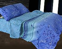 Евро постельное белье Бязь Голд - Флора