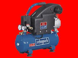 Компрессор на 8 литров Scheppach HC08