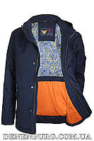 Куртка мужская демисезонная ZPJV ZC-330 тёмно-синяя, фото 1