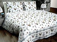 Двухспальное постельное белье Бязь Голд - Украиночка