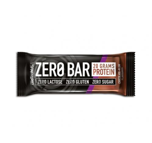 Батончик BioTech - Zero Bar (50 грамм) шоколад-слива