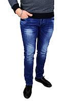 Синие мужские джинсы зауженные V.I.P. MARIO , фото 1