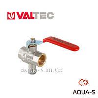 Кран шаровой Valtec VT.247.N для подключения датчика температуры ВН-ВН 3/4