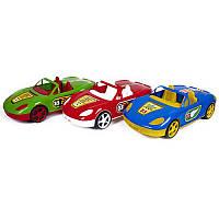 Машина кабриолет,с наклейками,46см (3шт/уп) 07-701-1N, игрушечная машинка, спортивная, игрушка