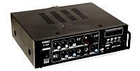 Усилитель звука UKC AV-323BT, 2 по 50 Вт, 4 Ом.
