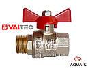 """Кран шаровой Valtec BASE DN 1/2"""" (PN 40) внутренний-наружный (VT.218) Италия, фото 2"""