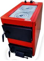 Твердотопливный котел Проскуров АОТВ 22 КД с чугунной плитой 2 конфорки