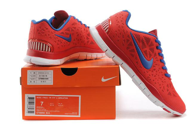Nike Free TR Fit 3 Red Blue