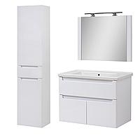 Комплект мебели для ванной комнаты Эльба 80 ТП-3 подвесной с зеркалом Юввис