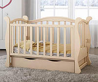Детская кроватка Angelo №6 слоновая кость
