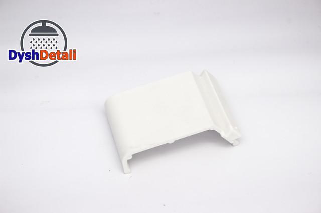 Кріплення екрану піддону, пластикове, біле ( ОФ-04 )