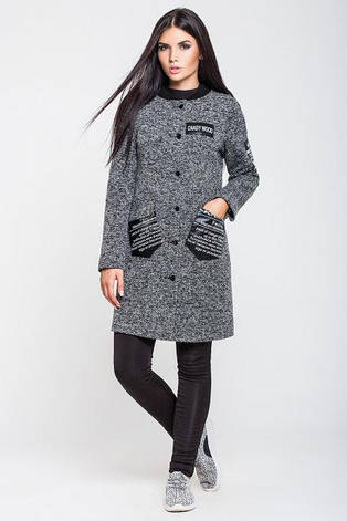 Пальто жіноче кашемірове - купити   ODUVANCHYK  e4d3d05e505ba