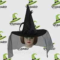 Шляпа Ведьмы (атласная)  (атласная)  Черный