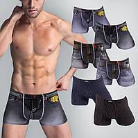 Мужские боксеры Veenice 7979, 7980, 2200. 2XL 50-52. В упаковке 6 трусов