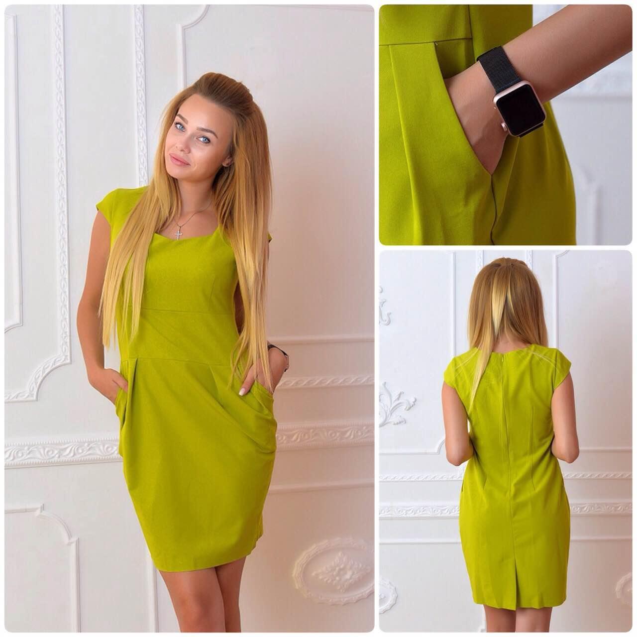 Платье, модель 746, цвет - яблоко