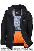 Куртка мужская демисезонная ZPJV ZC-330 чёрная, фото 1
