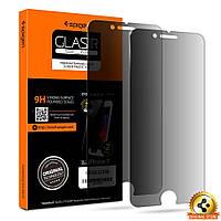 Защитное стекло Spigen анти-шпион для iPhone 7 (2шт)