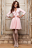 Женское красивое платье с юбкой-солнце (5 цветов), фото 7