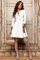 Женское красивое платье с юбкой-солнце (5 цветов), фото 1