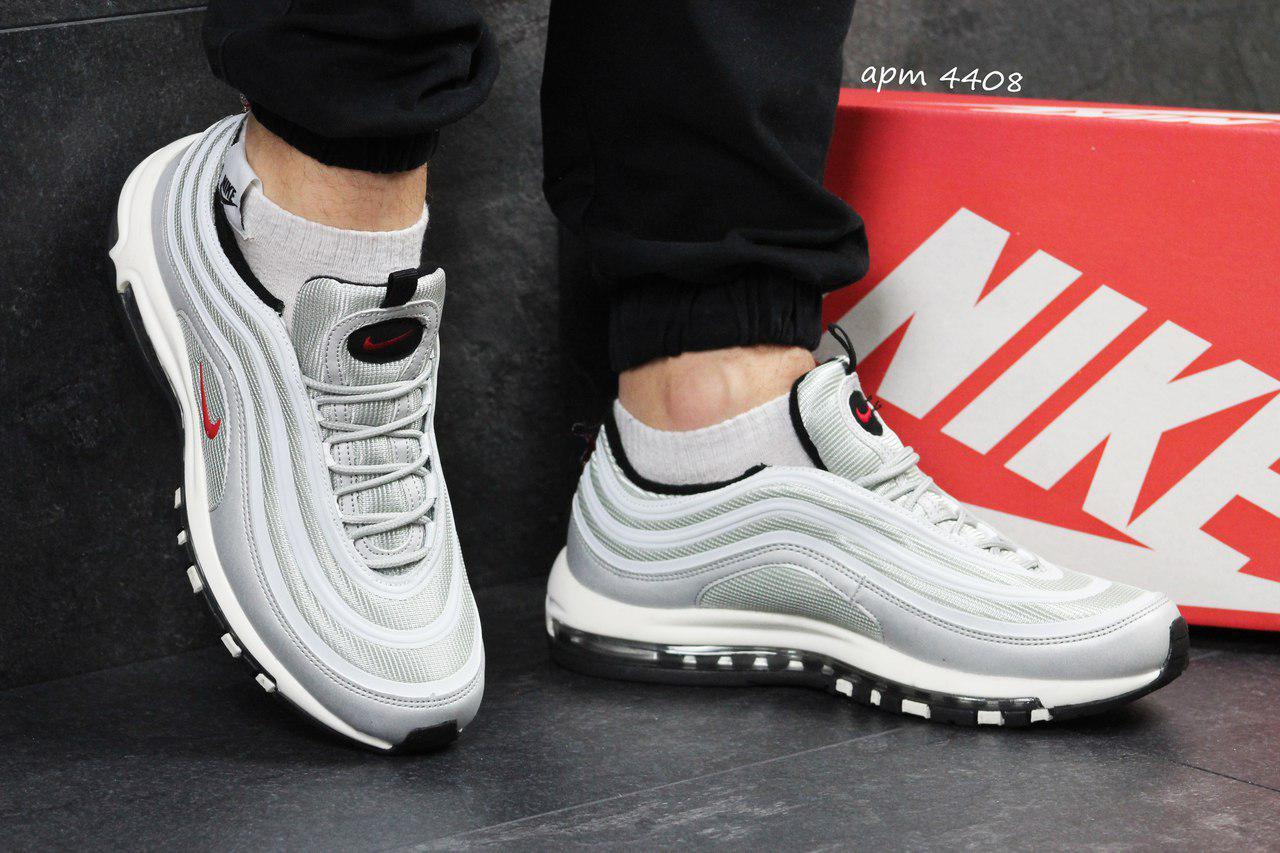 Кроссовки мужские серые Nike Air Max 97 4408 - Я в шоке!™ в Хмельницком 3c65abf1a07