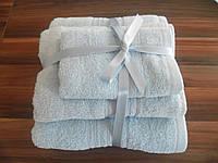 Качественное махровое полотенце IRYA 50х90 см Shalla Rainbow Mavi