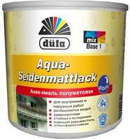 Аква-емаль Dufa Aqua Seidenmattlack 2,5л напівматова