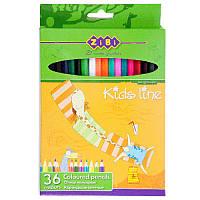Карандаши цветные, 36цв., ZB.2404
